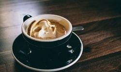 Кофейное мороженое с орехами. Рецепт.