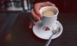 Кофейный сироп с газированной водой